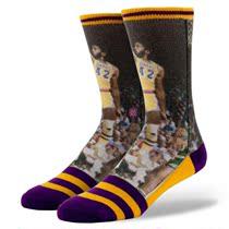 Stance  NBA 传奇系列 洛杉矶 湖人队 詹姆斯·沃西 价格:129.00