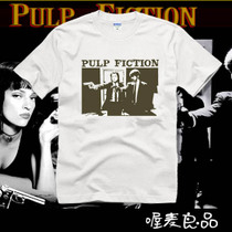 2013新款剧情情侣装短袖男士潮T恤Pulp FicTion低俗小说-2 价格:42.00