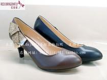 红蜻蜓2013秋季新款女鞋33MB19751浅口高跟33MB19753水钻专柜正品 价格:256.00
