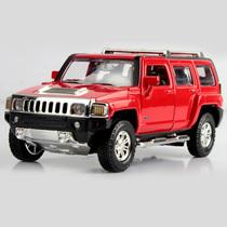 正版授权悍马车模 悍马H3 合金车模 1:32 声光版 汽车模型玩具 价格:38.00