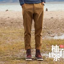 13秋季男式新款 复古灯芯绒 锥形裤 时尚小直角长裤子 休闲男裤 价格:110.00