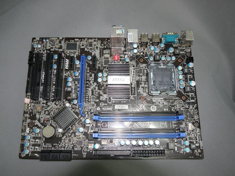 行货微星P43-C51 DDR3 775 酷睿 P45主板 超P35 P31 P45 价格:188.00