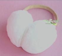 100%獭兔毛耳套耳捂耳罩护耳真皮发箍不易掉毛无异味手感超级棒! 价格:78.00