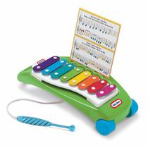 little tikes 美国小泰克儿童音乐玩具 带琴谱 敲击乐木琴 627767 价格:105.00