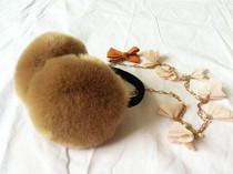 2013秋冬新款时尚百搭耳暖耳罩男女儿童通用仿皮草耳套仿兔狐耳包 价格:19.90