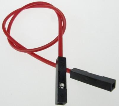 单根彩色 双头母 杜邦插头线 20CM 不挑颜色 1个起售--*圣源电子* 价格:0.20