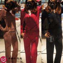 美国juicy couture正品代购天鹅绒运动休闲套装女镶钻刺绣JC橘滋 价格:488.00