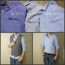 【QDC】tommy hilfiger 年轻系列 格子修身休闲衬衫 男 衬衣 价格:95.00