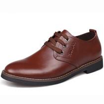 休闲鞋男单鞋 2013新款男士韩版系带皮鞋 软面皮商务低帮鞋 男鞋 价格:89.00