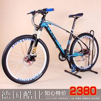 高端!德国磨砂酷比CUBE禧玛诺30速 超轻DIY组装山地车自行车2014 价格:2142.00