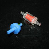 金海湾水族气泵专用蓝色止流阀 止逆阀 止回阀 单向阀 外径4mm 价格:1.00