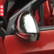 科鲁兹后视镜盖 欧泰 改装专用车外倒车镜罩 科鲁兹后视镜罩 价格:65.00