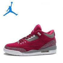 防滑气垫女鞋 乔丹反毛皮女子篮球鞋 3代球鞋 三代 AJ3运动鞋 价格:145.00
