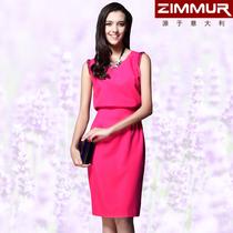 ZIMMUR专柜正品 2013春装新款修身百搭ol春款连衣裙 夏季 0866ZR 价格:189.00