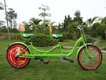 厂家直销卡帕奇 双人自行车 情侣 双人车 双人单车 双人休闲出租 价格:850.00