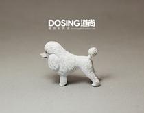 美国NEWRAY宝柏 仿真动物 白色 贵宾犬 贵妇犬 宠物狗 小狗 模型 价格:3.00