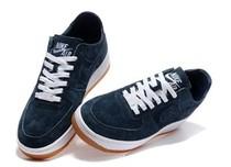 耐克空军1号休闲板鞋NIKE AIR FORCE1深蓝色陈冠希正品男鞋 价格:788.00