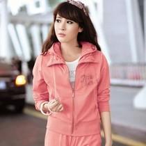 韩版女士休闲运动套装女款春秋运动服套装女装春装春款运动衣卫衣 价格:178.00