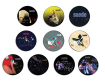 SUEDE head coming up,trash,filmstar BADGE SET 3.2cm 胸章徽章 价格:76.00