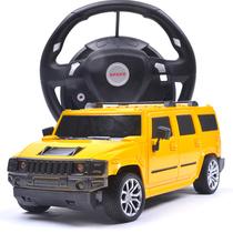 儿童超大带方向盘遥控车小男孩充电动遥控汽车玩具车悍马漂移赛车 价格:59.00