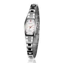 罗西尼正品1394W04B中国长方型石英表表女腕表钨钢手表时尚女表 价格:2180.00