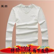 乔治A家男装长袖男T恤exchange带领ea7入秋新款上市韩版阿玛尼 价格:1025.00