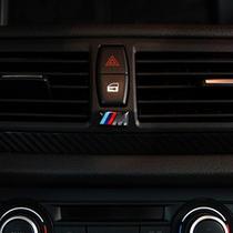 宝马M标 运动版 改装 装饰 M小标 车标 标志 方向盘标 轮毂标 价格:2.70
