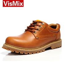 秋季男鞋 真皮男士大头皮鞋男户外休闲皮鞋 工装靴 男靴男士短靴 价格:158.00