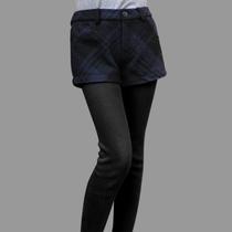 噜噜比比圣迪奥LLBBi专柜正品女装秋冬侧拉链时尚格纹短裤2480978 价格:78.00