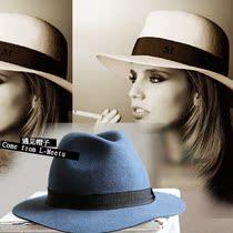 【欧美控】街头帽造型帽街拍礼帽绅士帽短檐中折四季搭配帽子 价格:80.00