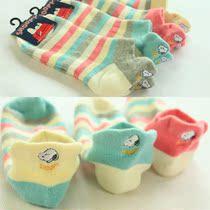 10双包邮 毛巾袜子毛圈 史努比刺绣地板袜女袜子短袜女士纯棉袜 价格:5.50