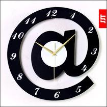 久久达 欧式个性创意挂钟 时尚简约艺术时钟 客厅静音钟表 包邮 价格:35.00