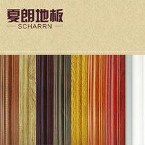 夏朗地板 塑钢高分子踢脚线 PVC 聚脂环保踢脚线 带卡扣 阴阳角 价格:8.20