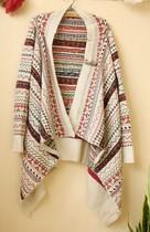 2011秋冬原单Thursdayisland星期四岛屿海报款民族风两穿羊毛披肩 价格:79.00