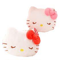 可爱hello kitty空调毯抱枕两用靠垫毯创意女生日礼物 价格:45.00
