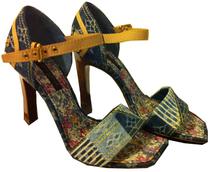 香港现货代购 LOUIS VUITTON深浅LOGO牛仔凉鞋LV 价格:4695.00