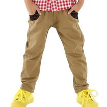 【特价一天独享】2013秋韩版男童装裤子螺纹口袋休闲儿童长裤包邮 价格:49.00
