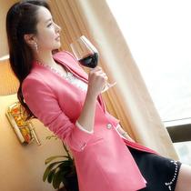 2013秋装女装新款 韩国代购长袖修身小西装外套潮韩版西服 潮 价格:149.00