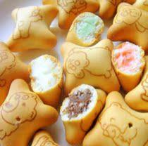 【清新美食】热销港澳 Ozi澳崎熊饼 小熊灌心饼干 酥脆而且不甜哦 价格:8.80
