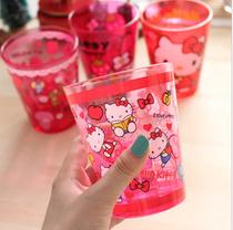新品hello kitty韩国亚克力水杯 KT漱口杯 my melody卡通水杯 价格:15.00