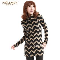诺力米特2011秋冬女装新款韩版打底针织衫毛衣长/短款N110175 价格:89.60