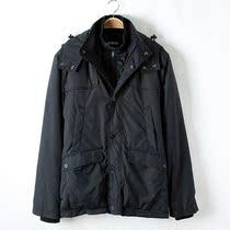 外贸原单 超级保暖俄罗斯大牌双层立领带帽加厚棉衣 男/1.4kg推荐 价格:179.00
