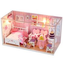 新款 DIY小屋 创意礼物 手工木质拼装 心跳回忆 憧憬梦想 送朋友 价格:45.00
