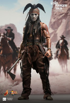 HotToys HT 1:6 MMS217 独行侠 The Lone Ranger Tonto 德普 预订 价格:100.00