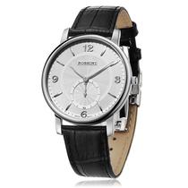 罗西尼手表超薄皮带瑞士石英机芯男表SR6461女表SR6462 情侣表 价格:1080.00