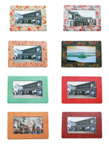 【磁相框大集合】创意家居冰箱贴相框5寸6寸相片照片通用磁性像框 价格:5.00