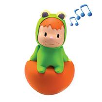 仙霸[211311-30]智比不倒翁青蛙公仔玩具摇摆音乐 可爱趣味 0-1岁 价格:79.00