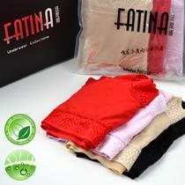 正品 fatina内裤再生纤维女内裤 女士蕾丝性感舒适中腰三角裤 价格:35.80