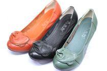 新款【安奴女鞋】单鞋/妈妈鞋/软底/舒适都市人/单层牛皮 价格:115.00