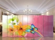 新款简约中式现代家居酒店风水屏风隔断时尚艺术装饰 美丽和青春 价格:78.00